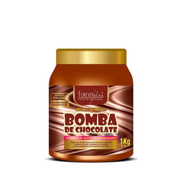 bomba-de-chocolate-forever-liss-mascara-hidratante-1kg-eufina-cosmeticos