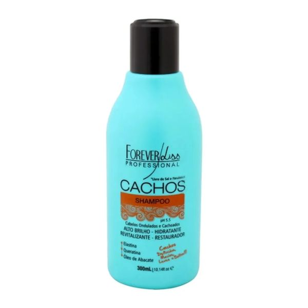 forever_liss_cachos_shampoo_300ml_eufina_cosmeticos