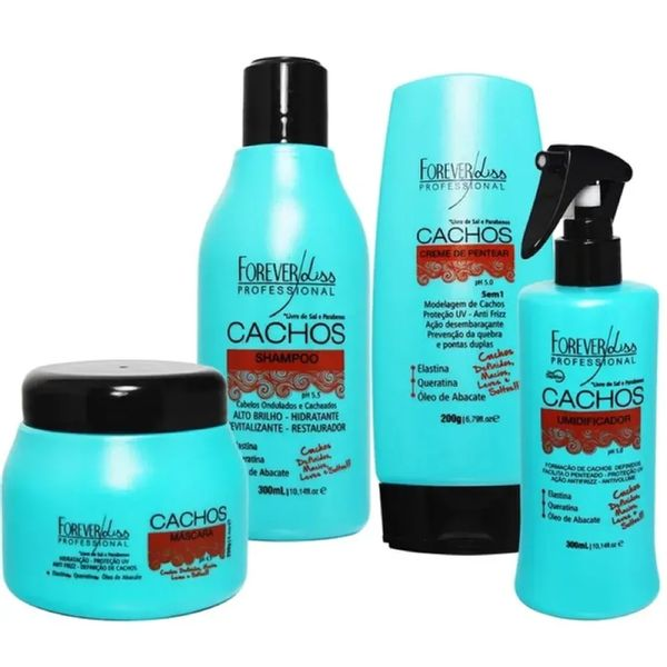 kit-cachos-forever-liss-eufina-cosmeticos