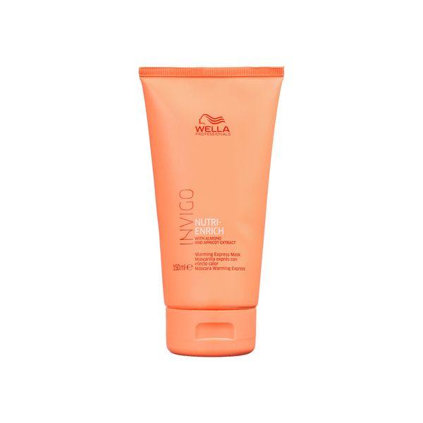 mascara-warming-express-invigo-nutri-enrich-wella-150ml-eufina-cosmeticos